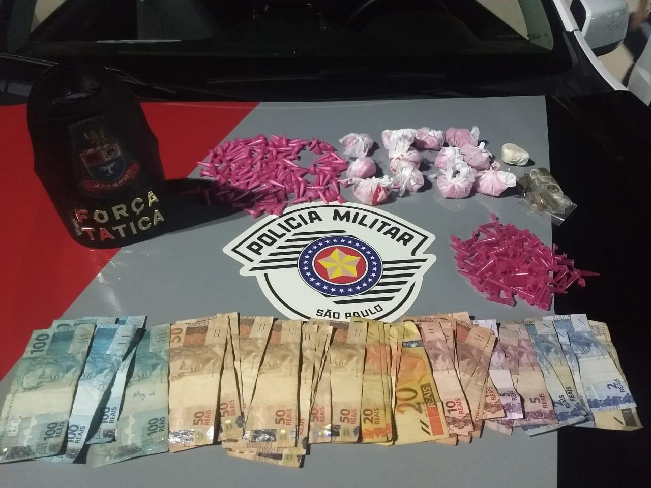 Força Tática prende indivíduo por tráfico de drogas no Jardim Paulista em Rio Claro - https://www.gruporioclarosp.com.br/