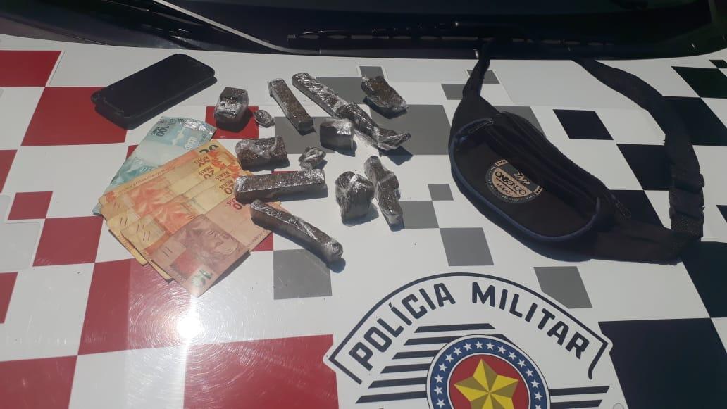 PM detém indivíduo por tráfico de drogas no Jardim Novo 2 em Rio Claro - https://www.gruporioclarosp.com.br/
